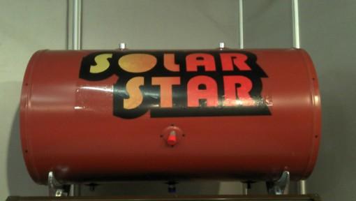 μποιλερ ηλιακού θερμοσίφωνα  160litr glass κεραμοσκεπησ-Διπλής Ενεργείας - solar star