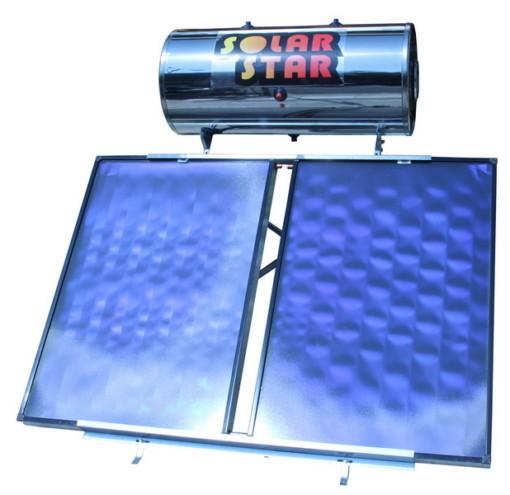 Ηλιακός Θερμοσίφωνας Solar Star  200lt/4m² glass Διπλής Ενεργείας-Ως 3 Άτοκες Δόσεις