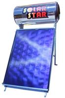 Ηλιακός θερμοσίφωνας Solar Star 120lt/1,5m² Glass Επιλεκτικός-Διπλής ενεργείας-Ως 3 Άτοκες δόσεις