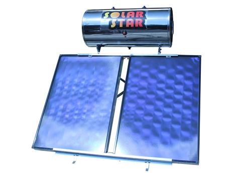 ηλιακος θερμοσίφωνας Solar star  200lt/3,0m² Glass Επιλεκτικός Διπλής ενεργείας-Ως 3 Άτοκες Δόσεις