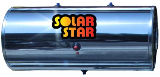 Μπόιλερ ηλιακού θερμοσίφωνα 200lt  solar star -Διπλής Ενέργειας