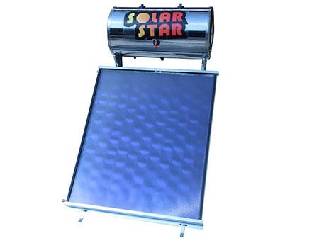 Ηλιακός θερμοσίφωνας Solar Star 160lt/2m²  glass economy  επιλεκτικός διπλής ενεργείας-Ως 3 Άτοκες δόσεις