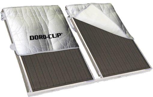 Κάλυμμα ηλιακού θερμοσίφωνα Doro cup  με ιμάντες 130 Χ 150cm  με πιστοποίηση